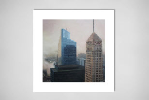 Foshay Tower canvas prints on Saatchi Online